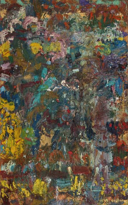 Ayres, Sabrina, 1978, oil on canvas, 96 3-8 x 60 1-8 in., 245 x 153 cm