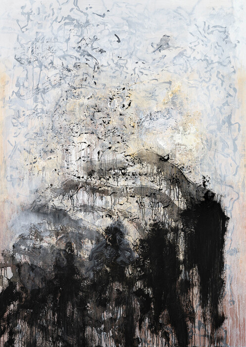 12_Maggi Hambling_The last baboon_oil on canvas, 2018_67x48inches