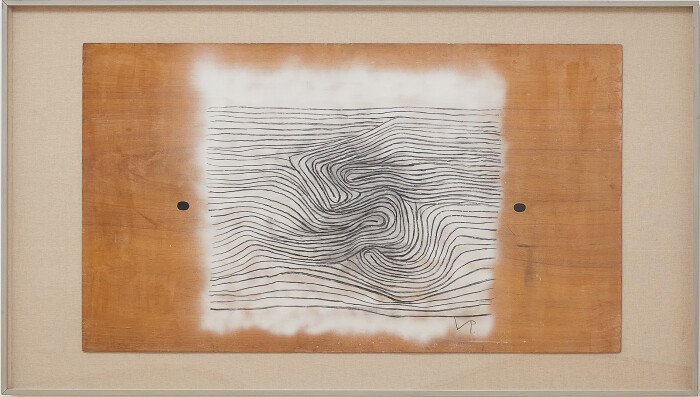 Pasmore, Untitled, c. 1996, oil spray paint and charcoal on board, 48 x 84 in., 121.9 x 213.3 cm, framed (email).jpg
