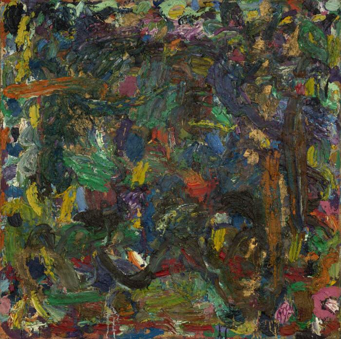 Ayres, Phosphor, 1979-80, oil on canvas, 59 3-4 x 60 in., 152 x 152.5 cm