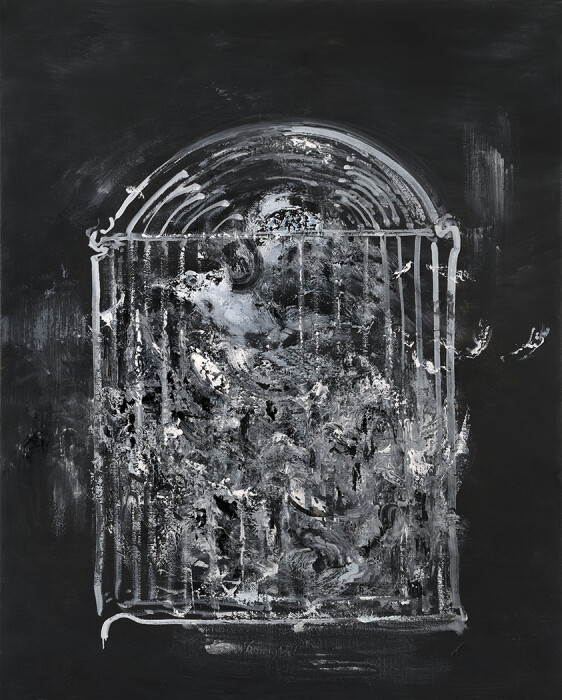 21_Maggi Hambling_Caged_oil on canvas, 2019_60x48inches email
