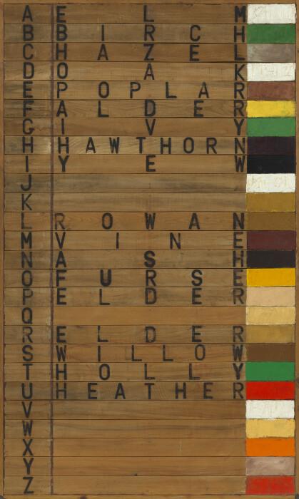 Joe Tilson, Tree Alphabet (1973)