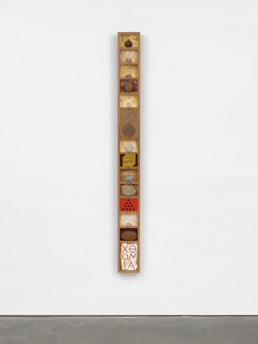 Joe Tilson, Cthonic Stele (1978)